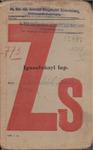 Igazolványi Lap [Hungarian Jew's Identity Workbook]