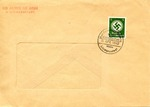 Rare Envelope With Judenrat Hand-Stamp and Litzmannstadt Ghetto Cancel Renaming Polish City of Lodz Litzmannstadt