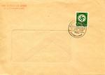 Rare Envelope With Judenrat Hand-Stamp and Litzmannstadt Ghetto Cancel Renaming Polish City of Lodz Litzmannstadt