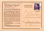 Theresienstadt Ghetto Postcard from Gestapo Prison 'Kleine Festung'