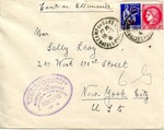 Censored Envelope from Camp De Gurs in Vichy, France