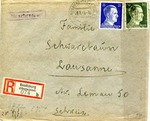 Censored Envelope from Prisoner in Bendsburg, Poland