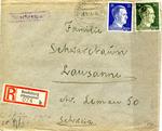 Censored Envelope from Prisoner in Bendsburg, Poland
