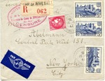 Envelope from Camp de Rivesaltes, France
