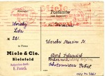 Ostarbeiter Postcard