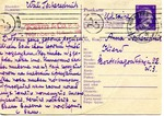 Censored Dual Reply Postcardard from Slave Labor Camp in Nurnburg, Germany