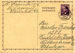 Postcard from Freital, Germany Forced Labor Camp