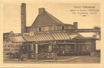 Postcard of Paul Verdiere Cafe