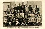 Postcard of Students from School in Oradour-Sur-Glane