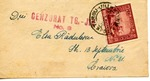 Envelope from Targu Jiu, Romania