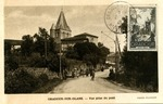 Oradour-Sur-Glane Commemorative Postcard and Stamp