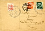 Anschluss Postcard from Vienna to Rome