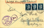 Envelope from German Occupied Bila Tserkva, Ukraine