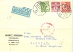 Censored Letter From Denmark to Germany