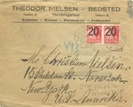 Wehrmacht Censored Envelope from Denmark to New York