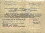 Document from Einsatzgruppe VI