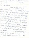 Letter from Mavis Batey