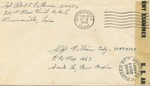 Envelope with Undercover Address for Manhattan Project