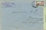 Censored Envelope from Smederevo to Beograd, Yugoslavia