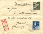 Envelope from Sokolow-Podlaski, Poland to Basel, Switzerland