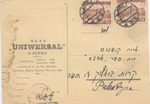 Postcard from Lutsk with Yiddish Writing
