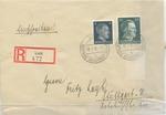 Envelope from Lutsk during German Occupation