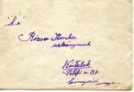 Envelope with Hungarian Arrow Cross Party Label