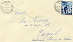 Envelope to Zagreb,Croatia with 'Borba' Stamp