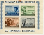 Croatian Souvenir Stamps - Croatian Legions