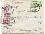 Envelope to Spanish Soldier in Division Azul