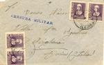 Envelope Sent by International Brigade in Lerida to Italy