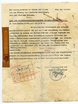 Heydrich Document on Jewish assets