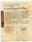 Heydrich Document on Jewish assets