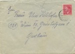 Feldpost Envelope from Member of SS Polizei Einsaztkommando Burger