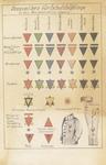Postcard of Nazi Concentration Camp Chart of Prisoner Markings