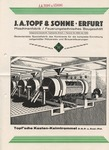 J.A. Topf and Sohne Erfurt Brochure