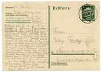 Early Postcard from Concentration Camp in Ettersberg, Germany