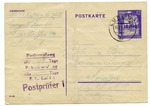 Postcard from Prisoner at Majdanek Concentration Camp