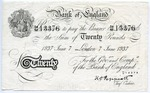 Forgery of English 20 Pound Note: Operation Bernhard