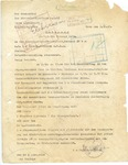 Letter about the Transport of 765 Slovenian Jews to Auschwitz, Signed by Adolf Eichmann