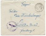 Waffen SS Weimar Buchenwald Feldgendarmerie 3rd Reich Correspondence