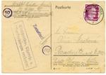 KL Mittelbau-Dora Sangerhausen Postcard