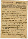 Letter from Neuengamme Concentration Camp