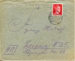 Feldpost from KL Auschwitz II