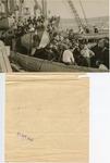 Refugees on Decks of S.S. Atratto