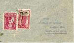 Envelope sent from Bolivia to Hicem