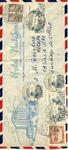 Envelope sent from Hotel Nutibara to Hicem in Santiago, Chile