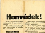 Hungarian Propaganda Poster for the Arrow Cross Party
