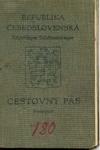 Passport issued to Egon Hertzka by Chiune Sugihara