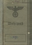 Waffen SS Wehrpass for Herbert Fandke,  A Guard at Sachsenhausen Concentration Camp